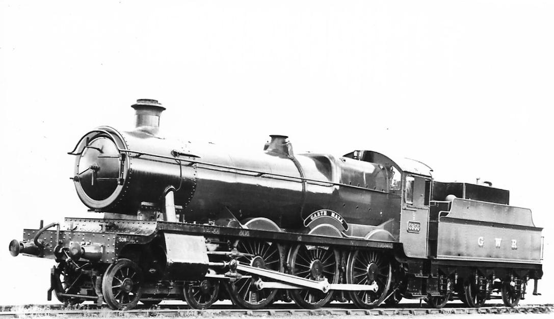 Garth Hall - oil -Green Folder GWR 57
