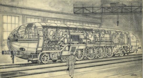 German Atomic Loco