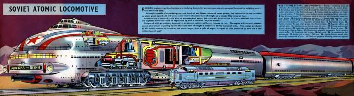 Soviet Atomic Locomotive