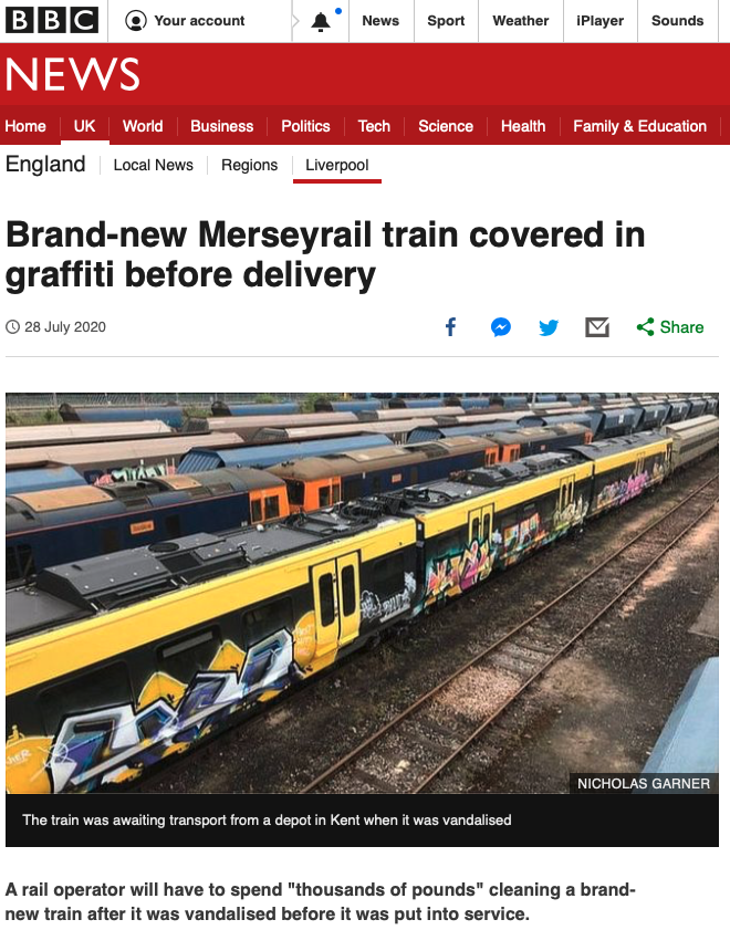 BBC News story image