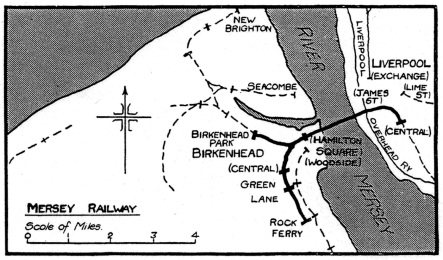The original Mersey Railway of 1903