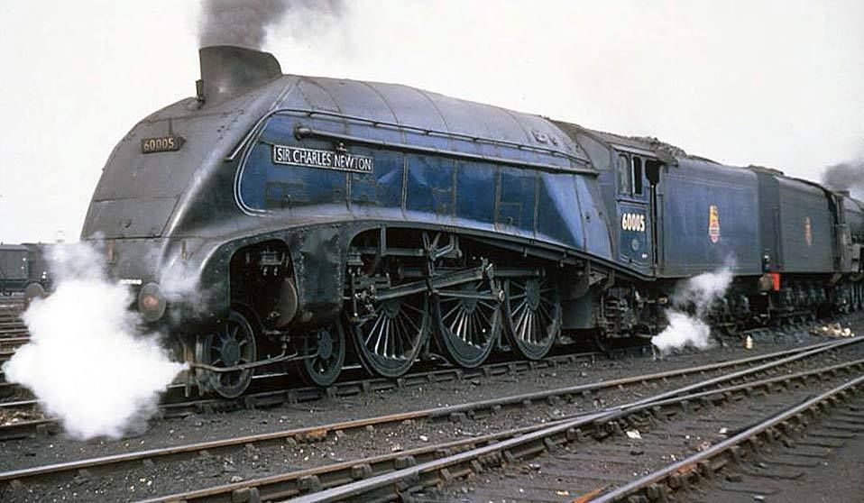 A4 Sir Charles Newton at York in 1950