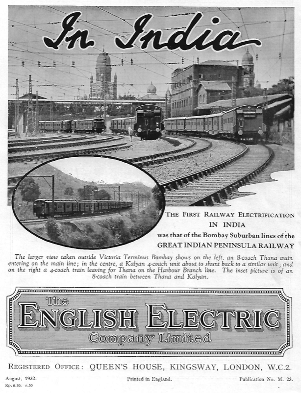 English Electric Cover